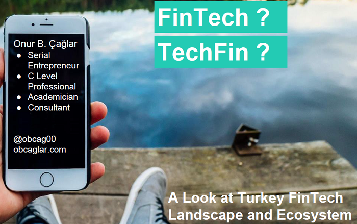 In 2018, Turkey FinTech/TechFin Landscape and Ecosystem